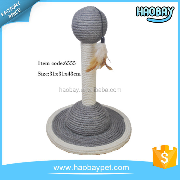Nature Sisal Assembled Sturdy popular funny cat toy cat tree