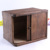 Factory Price finished Wood bread bins storage box bamboo bread box