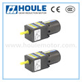 HOULE 6W high quality induction gear reduction motor with middle gear box