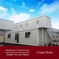 Beautiful Container Side prefabricated steel structure container house