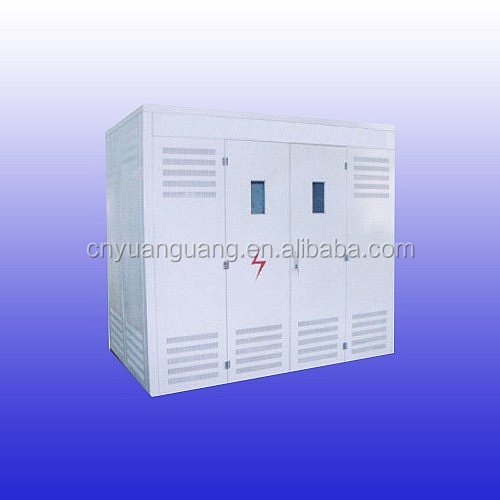 Generator neutral grounding resistor panel (NGR Cubicle)