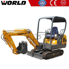 1.8ton Chinese Construction machine mini crawler hydraulic excavator for sale