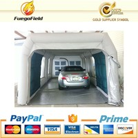 Cheap Retractable Blowtherm Used Car Paint Booth Price