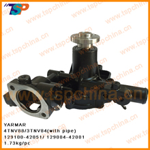 Yanma Water pump 4TNV88/3TNV84,129100-42051/129004-42001