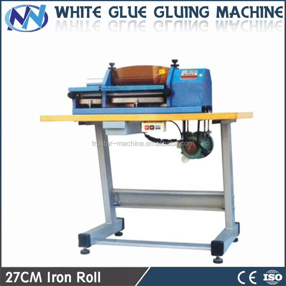 SX-27cm double head edge gluing machine/white latex Gluing Machine