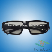 Cool recycled circular polarized plastic 3d glasses