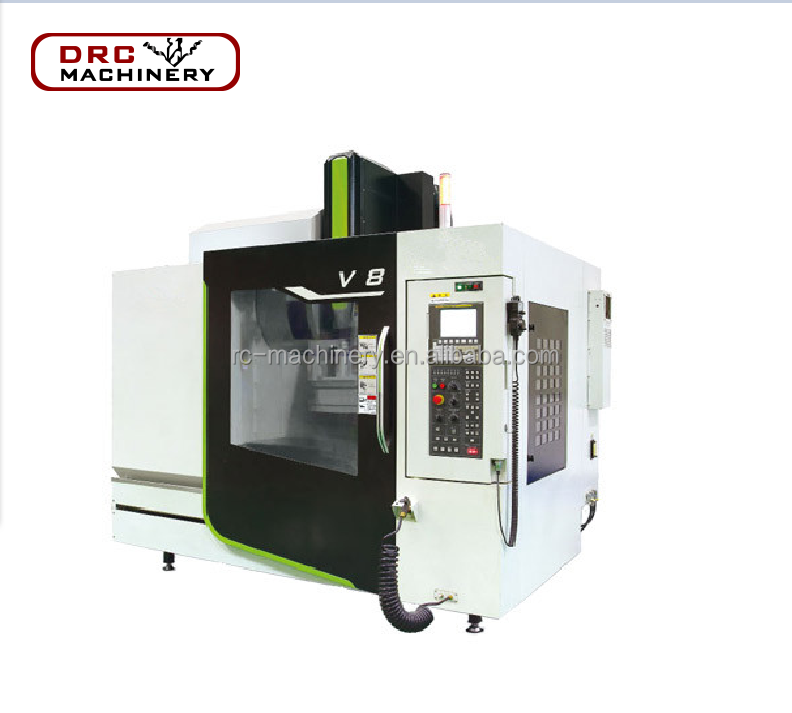DRC Brand High Efficiency V8 CNC Metal Machining Center 5 Axis Small VMC Machine