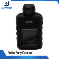"HD 1.5"" TFT LCD waterproof multi-function rechargeable LED police dual camera with flashlight mobile"