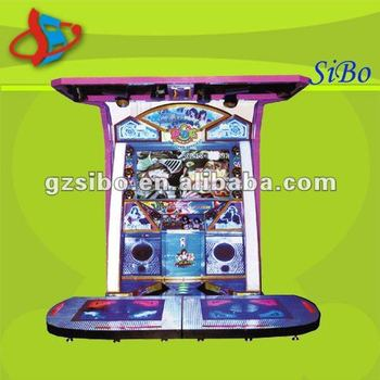 GM3365 dancing game machine, video game machine, coin operated game machine
