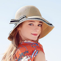 2016 newest style mexico straw sombrero visor hat for relaxing vacation