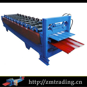 double layer rolling machine types of roof sheet roll forming machine