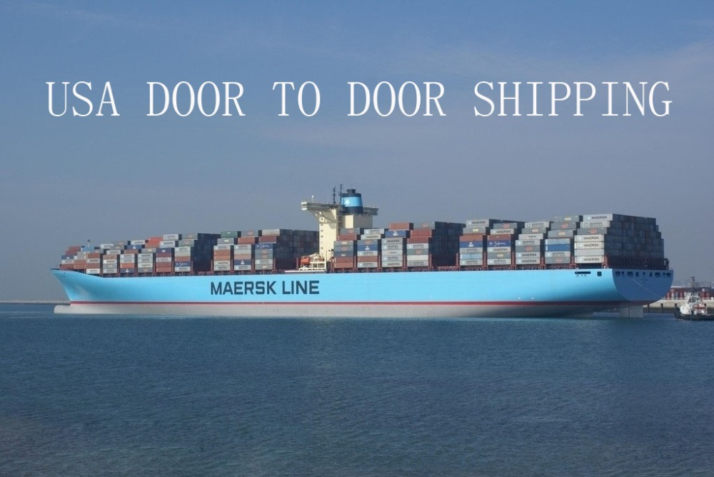 Professional usa door to door shipping forwarding service from China to usa