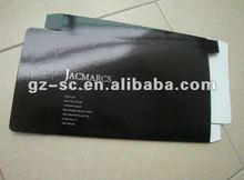 Black paper boxes with hot stamp for Lip brush PBSC-064