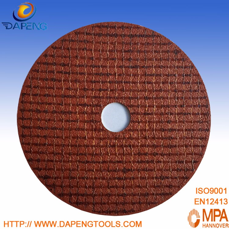 "China aluminum oxide 7"" 180x1.6x22mm abrasive disc holder for metal"