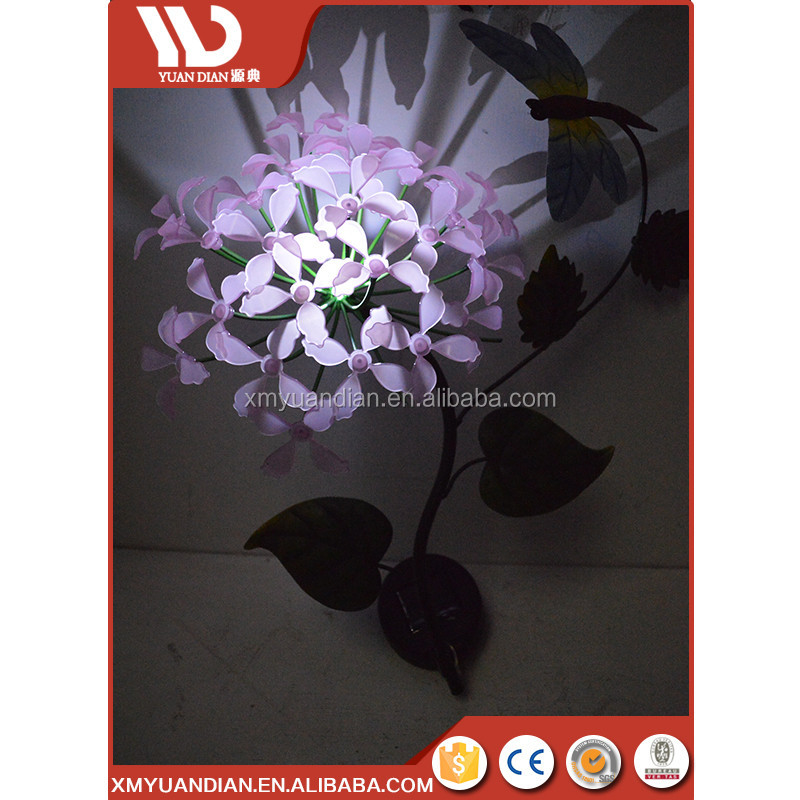 New Products 2017 Innovative Product Best Products Solar Flower Stake Garden Led Night Light