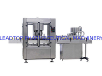 HXG-8 Glass / Plastic bottle Rotary Capping Machine With Auto Capper