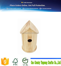 Outdoor troditional simple wooden bird nest / wood bird house