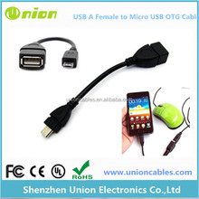 Micro USB Host OTG Converter Adapter Cable for Galaxy Note 2 3 S4 S3 Tab Nexus 7 HTC