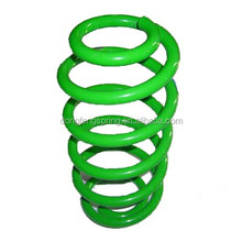 ISO spring steel green painting car suspension coil springs