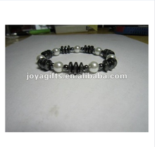 Factory sale cheap stainless steel Magnetite jewelry germanium titanium sports energy bracelet for fashion