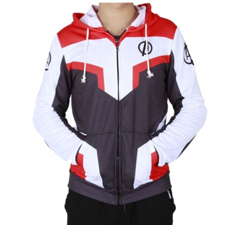 custom design marvel endgame avengers jackets for <strong>men</strong> printing made in china