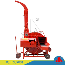 Small corn silage chaff cutter making machine farm grass straw cutting machine for sale