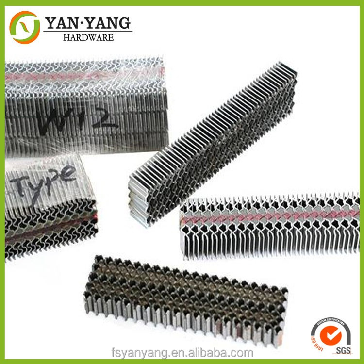 W09 cheap durable industrial corrugated fastener hot sale corrugated fastener