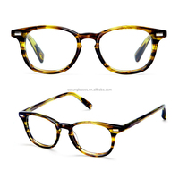 Fashionable Yellow Bee acetate frames eyewear