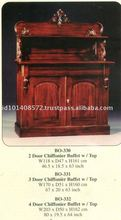 2 Door, 3 Door,4 Door Chiffoiner Buffet with Top Mahogany Indoor Furniture.