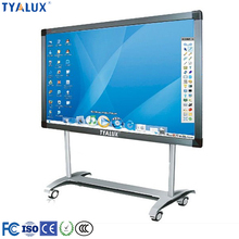 84 Inch 6-32 points IR touch interactive whiteboard / smart board china