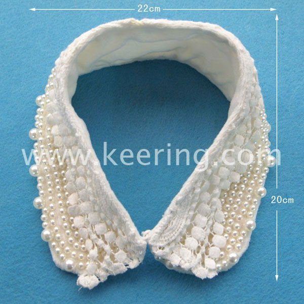 2014 new design Hot Sell Shining Pearl Design Collar Necklace WNL-958