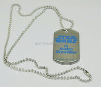 bell dog tag necklace