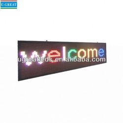 Indoor led billboards for sale HD indoor advertising score led signs screen
