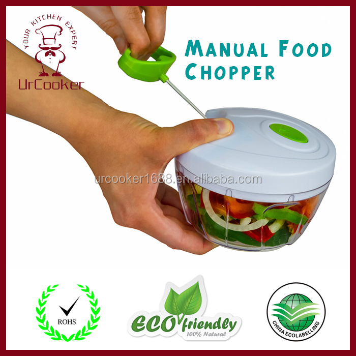 Extensible Easy Clean Manual Food Chopper Vegetable Chopper Handy vegetable Chopper