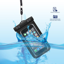 100 feet IPX8 cell phone dry bag waterproof case for samsung galaxy grand prime