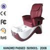 2014 nail salon spa massage chair&manicure tables and pedicure chairs&electric pink pedicure chair (KM-S135-15)