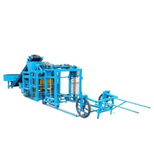 Cement Sand Hollow Block Making Machine QT4-25 Building Equipment For The Production Of Hollow blocks Philippines