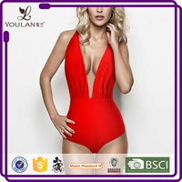 China Wholesale Comfortable Sexy Brazilian Cut Backless One Piece Mini Bikini Mini Thong Bikini