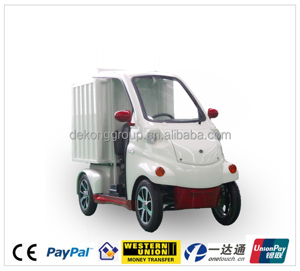 hot sell short distant delivery electric mini van