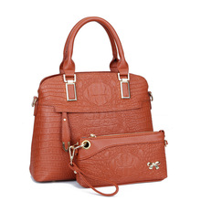 Wholesale Cheap Large pu Shoulder Bags Women Handbag with Tote Quality Women Bags Designer Totes Casual Crocodile Clutch Bag