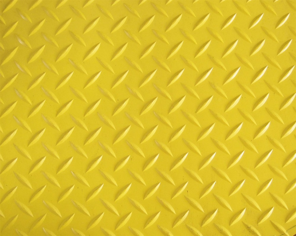 high quality non-slip rubber flooring mat willow/diamond rubber sheet made in AOTAI Rubber