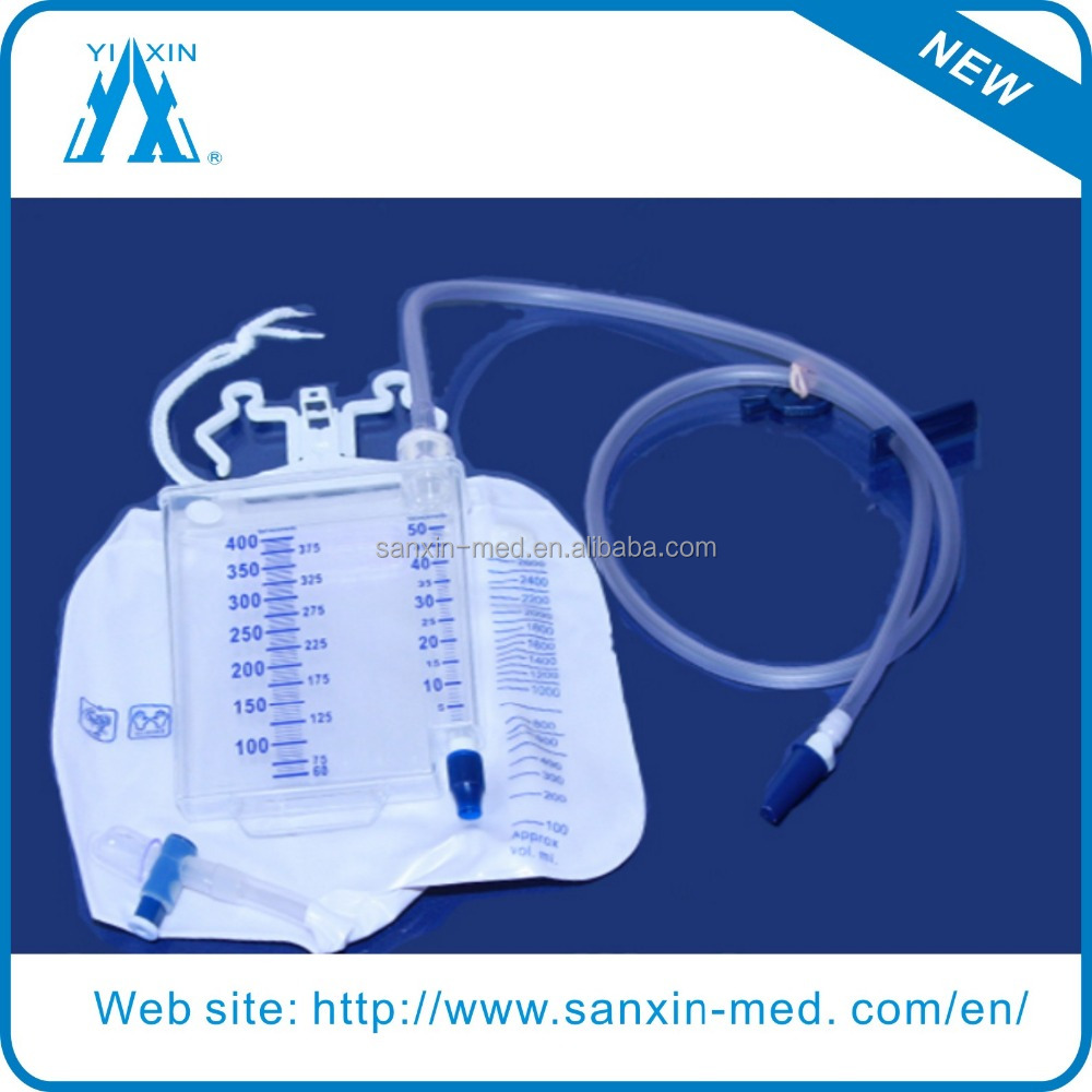 400ml Urine Meter with 2600ml Drainage Bag