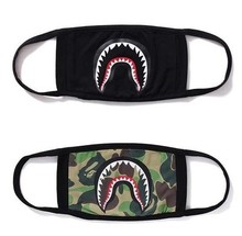 Ape people camouflage shark masks tide brand black cool handsome personality fashion crowd masks