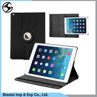 Wholesale Price 360 Degree Rotating With Auto Sleep Leather PU Tablet Case For iPad Pro