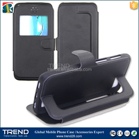 universal magnetic stand folding leather case for samsung