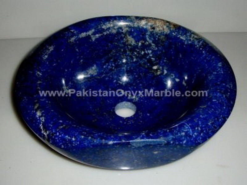 EXPORT QUALITY LAPIS LAZULI GEMSTONE SINKS AND BASINS