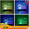 2017 alibaba popular 35*50cm desktop led writing board with CE&ROHs