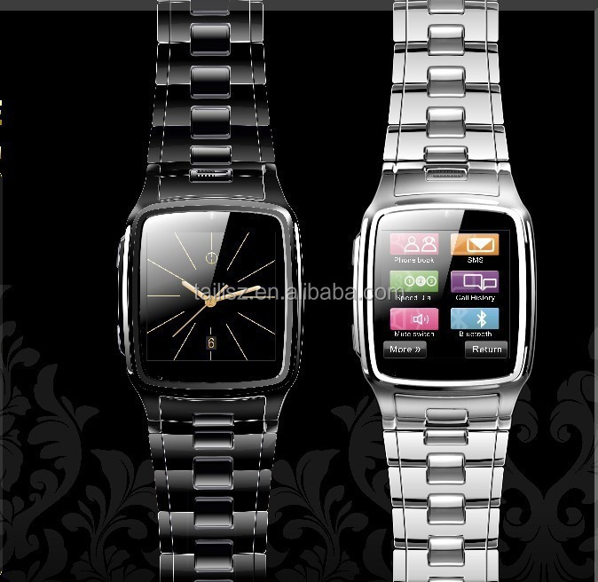 1.6 Inch Stainless JAVA Watch Phone,Quad Band,MP4,gprs, wap, bluetooth