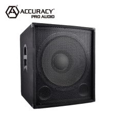 "Professional 18"" Inch Karaoke Subwoofer Bass Speaker Box For Sale CP18S"