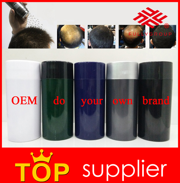 Hair Fibre Manufactory pure keratin hair filler fibers for men hair loss